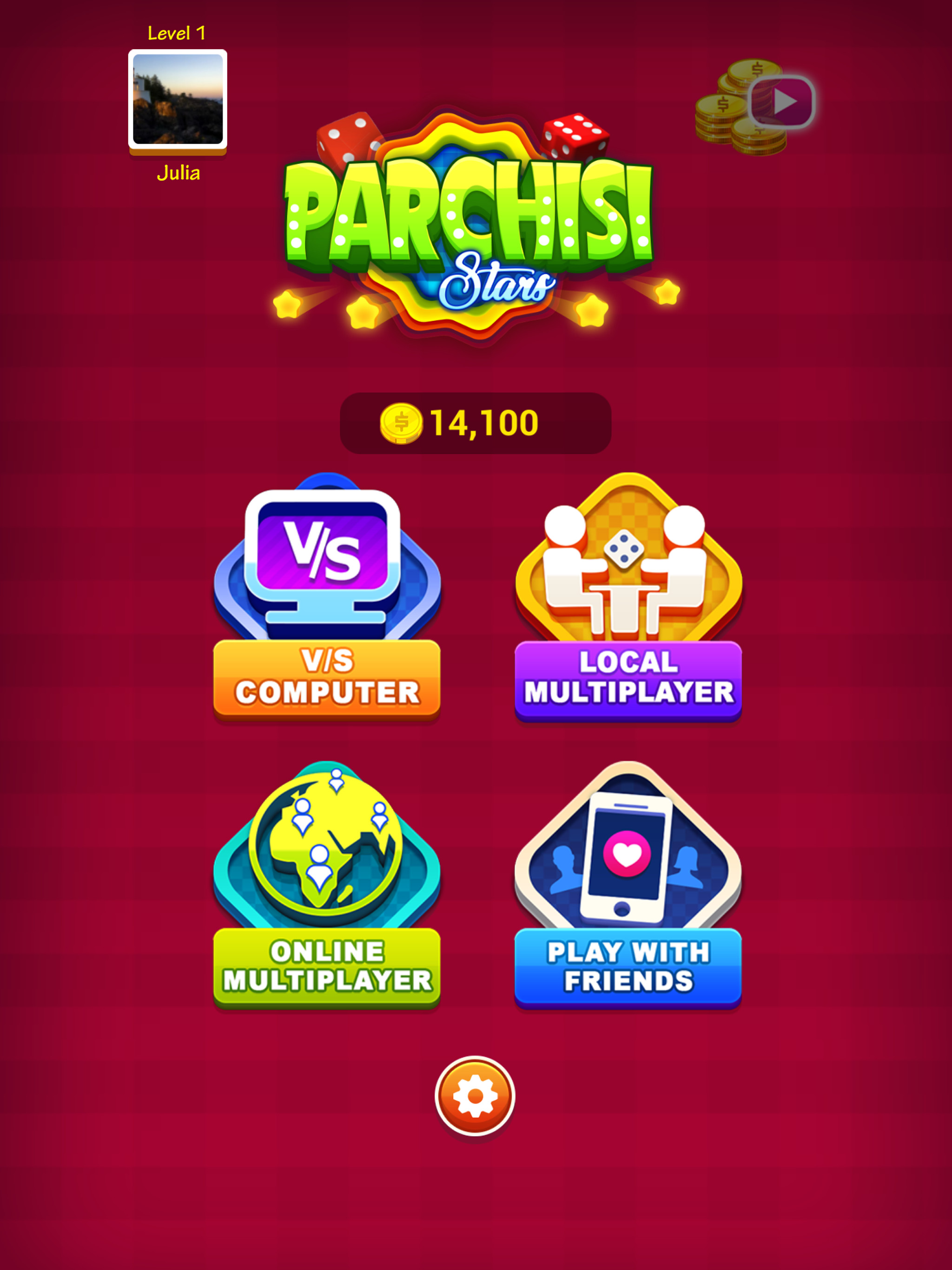 Parchisi Stars | Play Free Online Board Games at