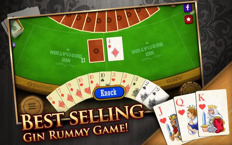 Gin Rummy Play Free Online Card Games At Games2master