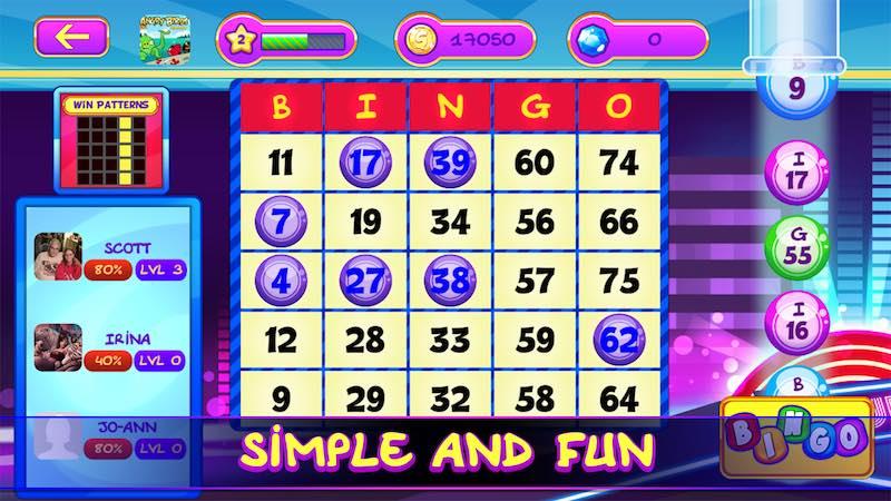 free online casino bingo